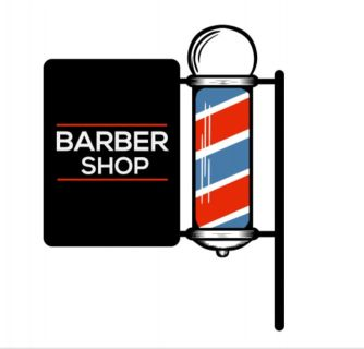 Barber wall station $80