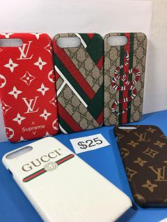 iPhone 7+ or 8+ Cases $25 each