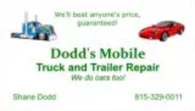 Diesel Truck sandtrailer repair specialize in fleet matience car