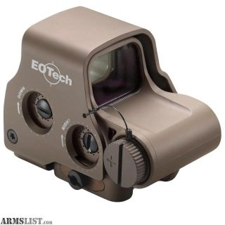 For Sale: EOTech Tactical, Holographic, Night Vision Compatible Sight EXPS3-2 Sight Reticle Pattern 65MOA Ring/(2)1MOA Dots, Tan EXPS3-2TAN