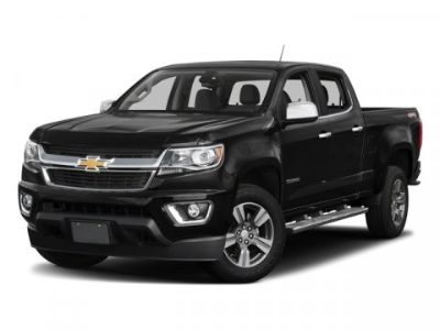 2018 Chevrolet Colorado 4WD LT (Silver Ice Metallic)
