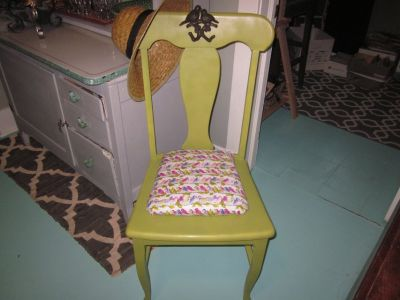 WHIMSICAL SIDE CHAIR!