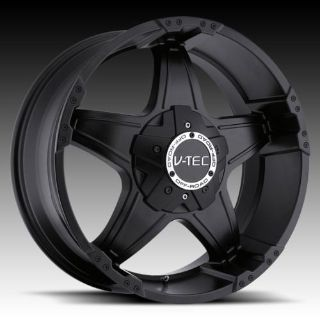 "Buy 20"" V-TEC 395 Black Wheels Rims Ford F150 Expedition motorcycle in Victorville, California, US, for US $725.00"