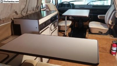 VW Vanagon Westfalia Front and Rear Table