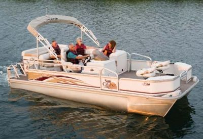 $8,988, 2007 SunCatcher LX 20 Fish  Cruise Pontoon Boats