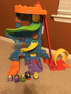 Little people car tower