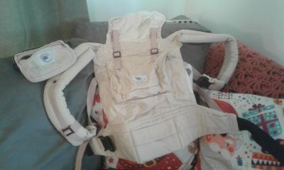 Ergo Baby Carrier w/ matching attachable pouch