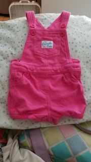 Hot pink 9m overalls