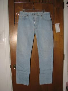 Button Front Levi 501 XX Vintage Jeans from 80's