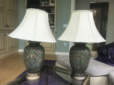 Pair of nearly new klaffs lamps