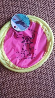 NWT. Soft flying disc for dogs.