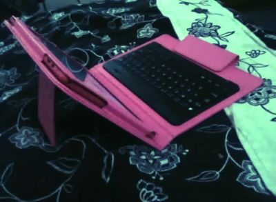 10 inch NuVision Tablet and case/Bluetooth keyboard