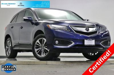 2018 Acura RDX w/Advance (Crystal Black Pearl)