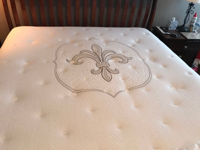 Stearns and Foster King Mattress