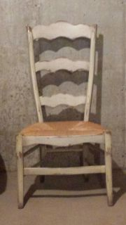 Distressed Side Chair