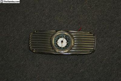 1953-57 Bug Dash Grill & Clock
