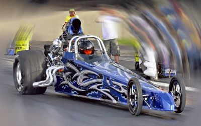 2012 Undercover 4 Link Dragster