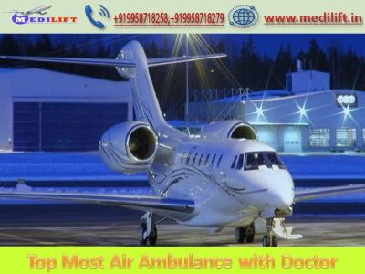 Get the Benefits of Paramount Air Ambulance Patna with Doctor