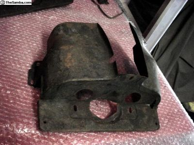Two Engine Tins Cylinder Covers (1-2)