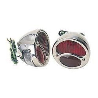 Purchase TWO Ford Model A '28, '29, '30 & '31 Tail Light Set -w/License Light Rat/Hot Rod motorcycle in Atoka, Tennessee, US, for US $44.99