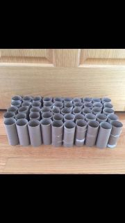 Empty toilet paper rolls storage organization crafts