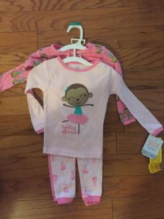NEW Carters pajamas 2 pair new with tags 18 months
