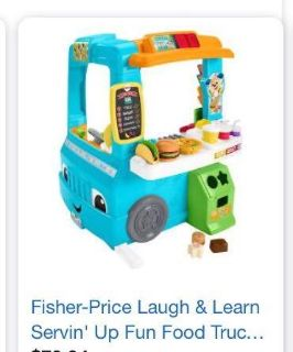 INSO Fisher Price Food Truck