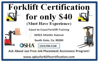 WANTED: Forklift Operator