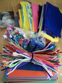 Lot of kid's craft supplies