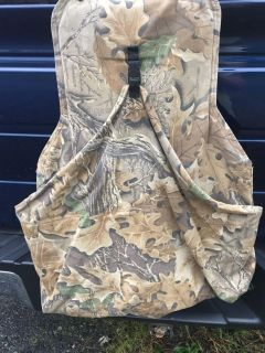Hunting vest with game pouch