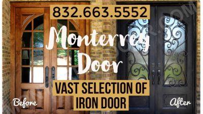 Iron Doors - Different Options