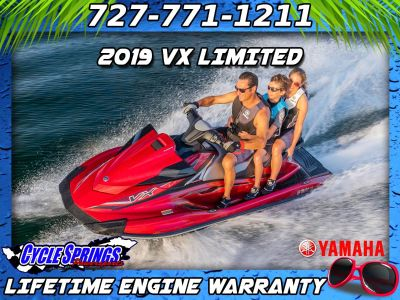 2019 Yamaha VX LIMITED 3 Person Watercraft Clearwater, FL