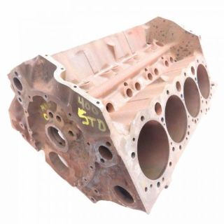 Find Chevy Original 4 Bolt SB 400 Bare Engine Block STD Bore 3951511 E-2-71 1970-1971 motorcycle in Livermore, California, United States, for US $699.97
