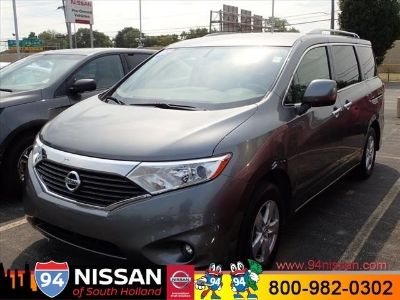 2017 Nissan Quest 3.5 S (Gray)