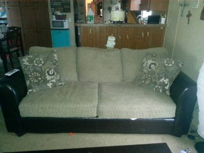 Full size 2 cushion couch