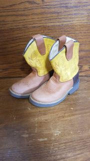 Toddler size 9 Cowboy Boots