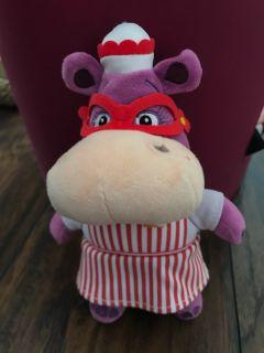 Hallie the Hippo Plush small stuffed toy, Doc McStuffins