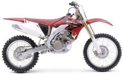 2004 Honda CRF450R Motocross Motorcycles Johnson City, TN