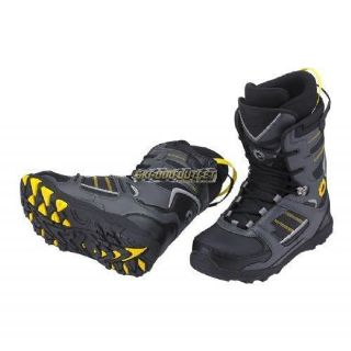 Purchase Ski-Doo Men's Holeshot Boots - Grey motorcycle in Sauk Centre, Minnesota, United States, for US $99.99