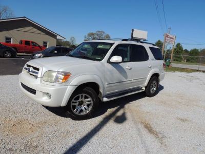 2005 Toyota Sequoia Limited 4d S