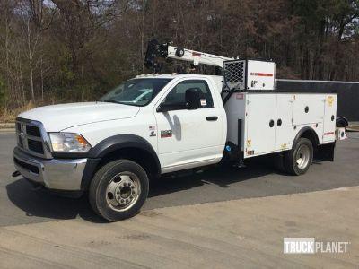 2012 Ram 5500 Service Truck w/ Crane