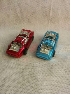 Tyco H. O. Scale BattleBots slot cars in mint condition