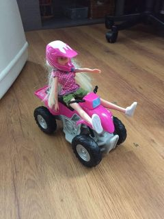 Doll with quad