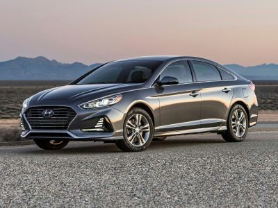 2019 Hyundai Sonata SE (Machine Gray)