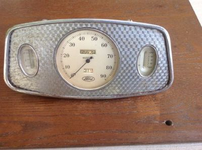 Buy 1933 Ford Gauge Panel Speedometer, Amp Gauge, Fuel Gauge motorcycle in Camp Verde, Arizona, United States, for US $500.00