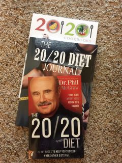 Dr. Phil 20/20 Diet, Journal and Cookbook