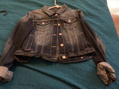 Maurice s xl Jean jacket worn once