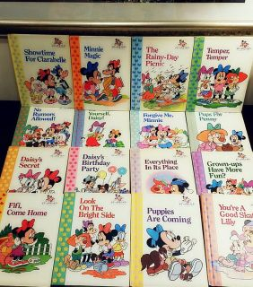 Disney Book Set Of Minnie And Me The Best Friends Collection