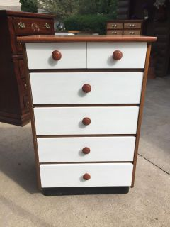 Cute smaller white dresser . If interested I have 5 other dressers and 3 nightstands avail. All on display at N1854 hwy 55 best hwy 41.