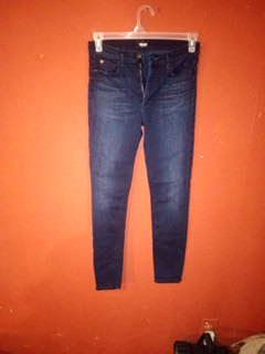 Dark skinny jeans hudson